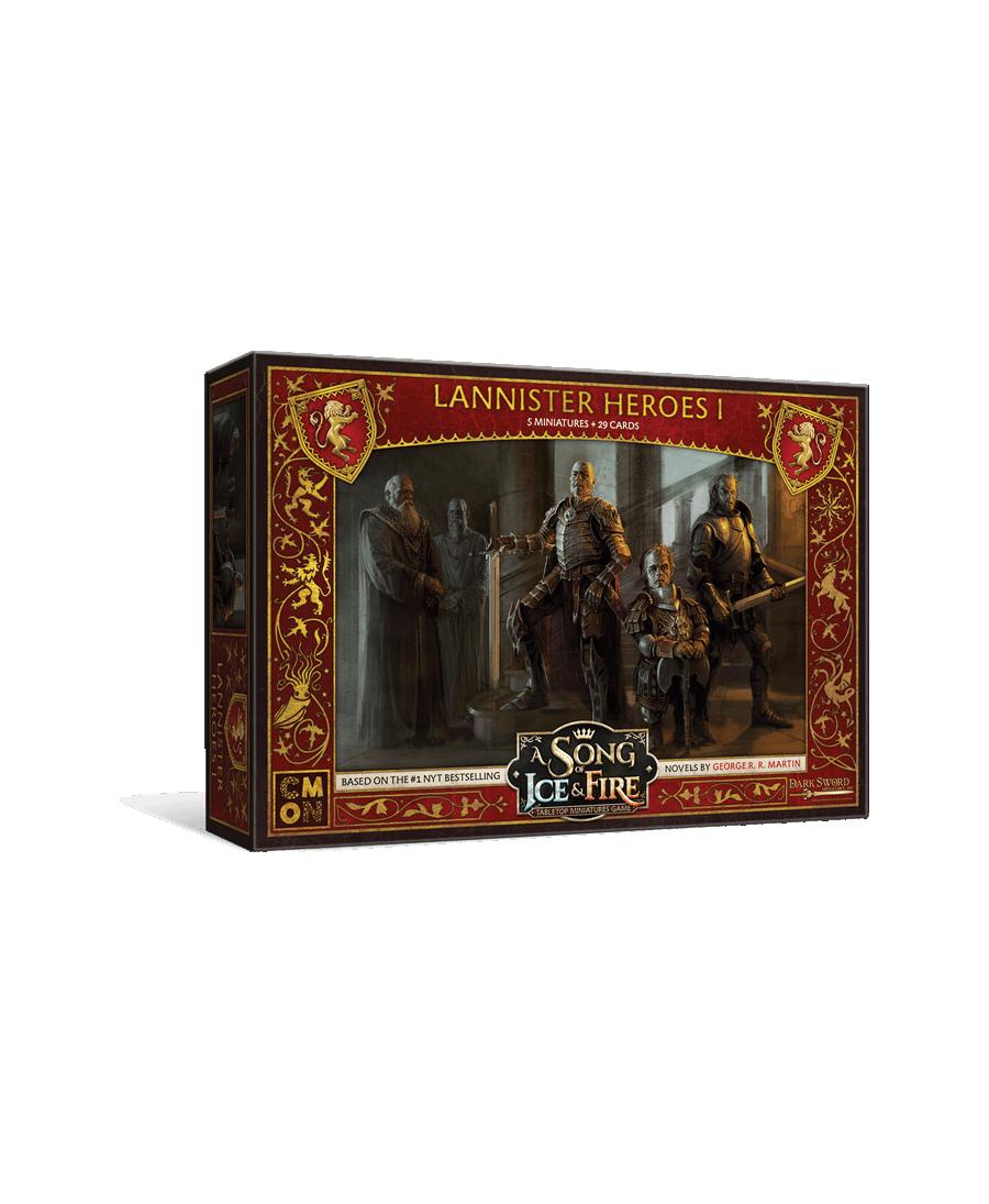 Le Trône de Fer JDF : Héros Lannister I | Boutique Starplayer | Jeu de Figurines