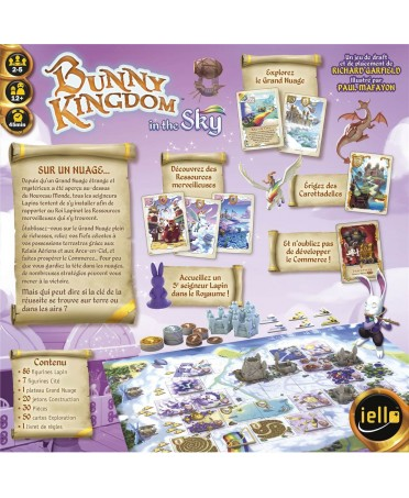 Bunny Kingdom : In The Sky (VF - 2019) | Boutique Starplayer | Jeu de Société