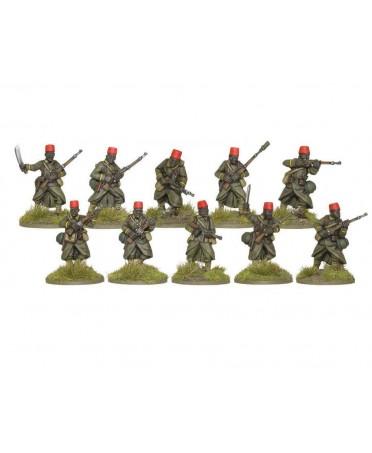 Bolt Action : Senegalese Tirailleurs Infantry Section | Starplayer | Jeu de Figurines Historique
