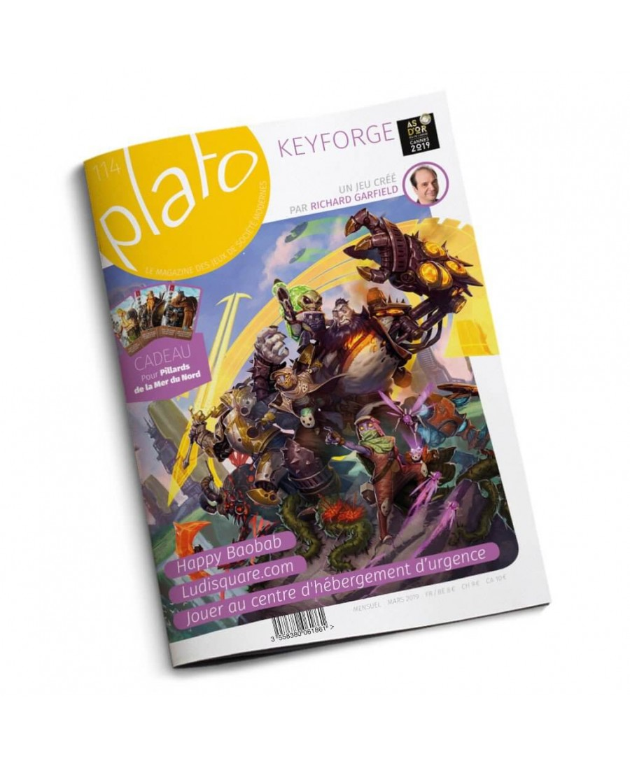 Plato n°114 | Boutique Starplayer | Magazine & Presse