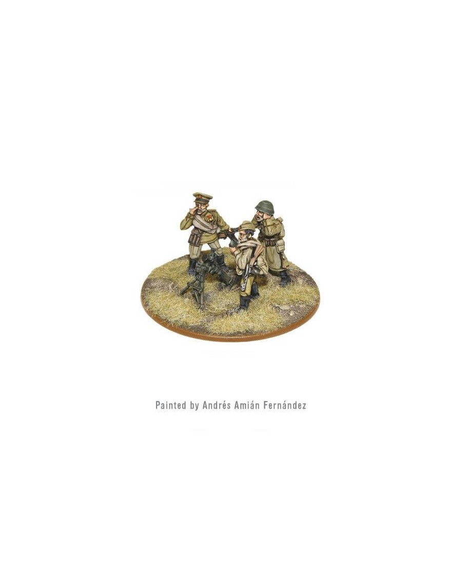 Bolt Action : Soviet 82mm Mortar Team | Boutique Starplayer | Jeu de Figurines