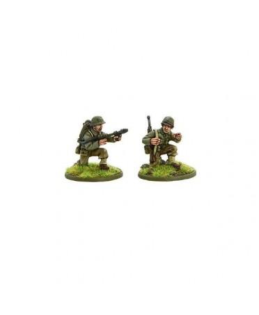 Bolt Action : US Army Flamethrower Team | Boutique Starplayer | Jeu de Figurines