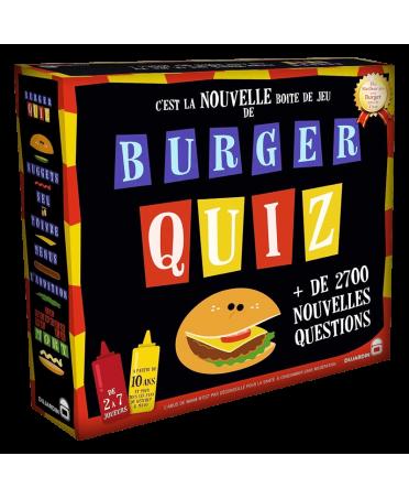 Burger Quiz (2018) | Boutique Starplayer | Jeu de Société