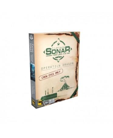 Captain Sonar : Opération Dragon | Boutique Starplayer | Jeu de Société