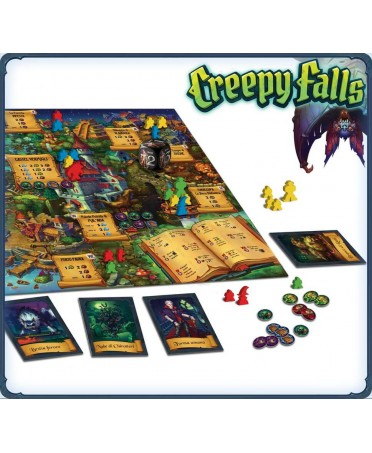 Creepy Falls (VF) | Boutique Starplayer | Jeu de Plateau