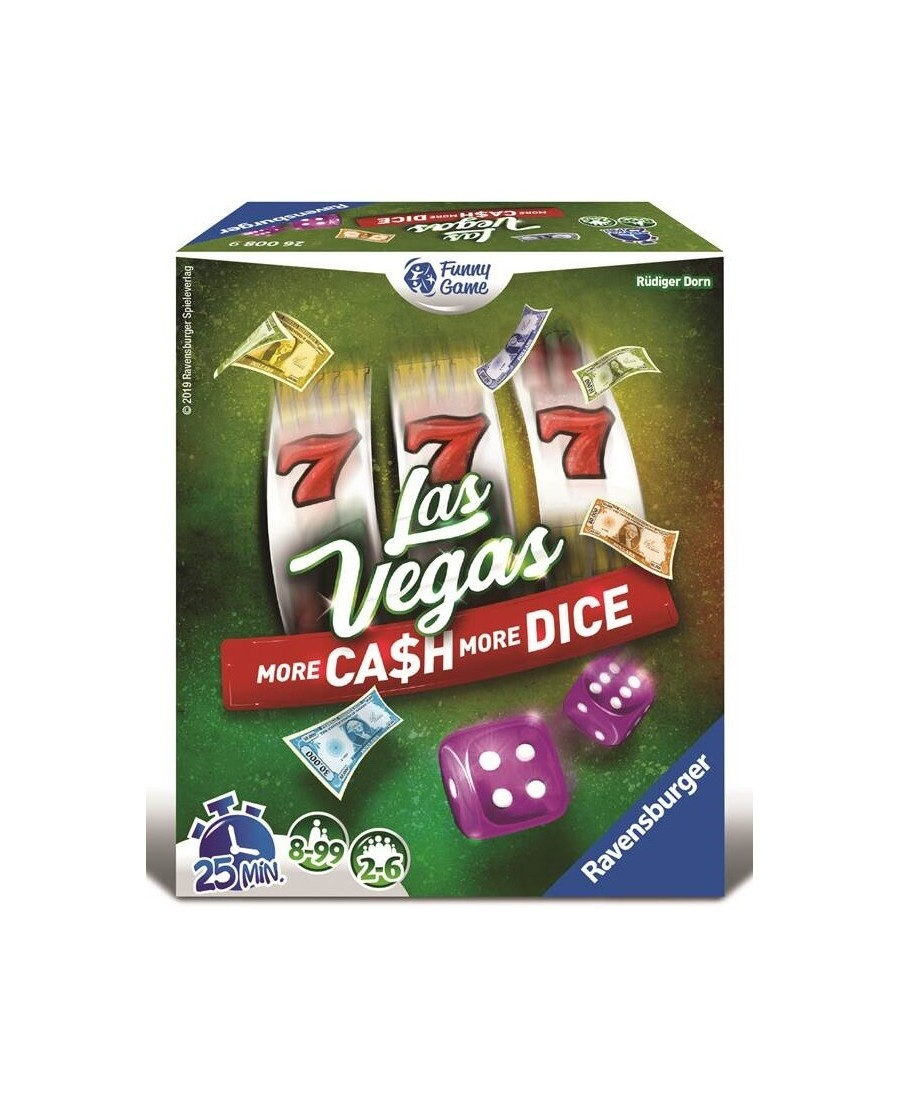 Las Vegas : More Cash & More Dice !   Boutique Starplayer   Jeu de Société