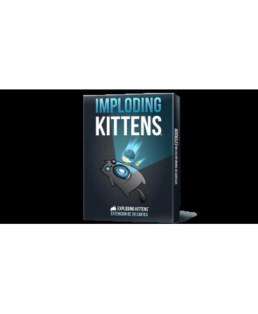 Exploding Kittens : Imploding Kittens (VF) | Boutique Starplayer | Jeu d'Ambiance