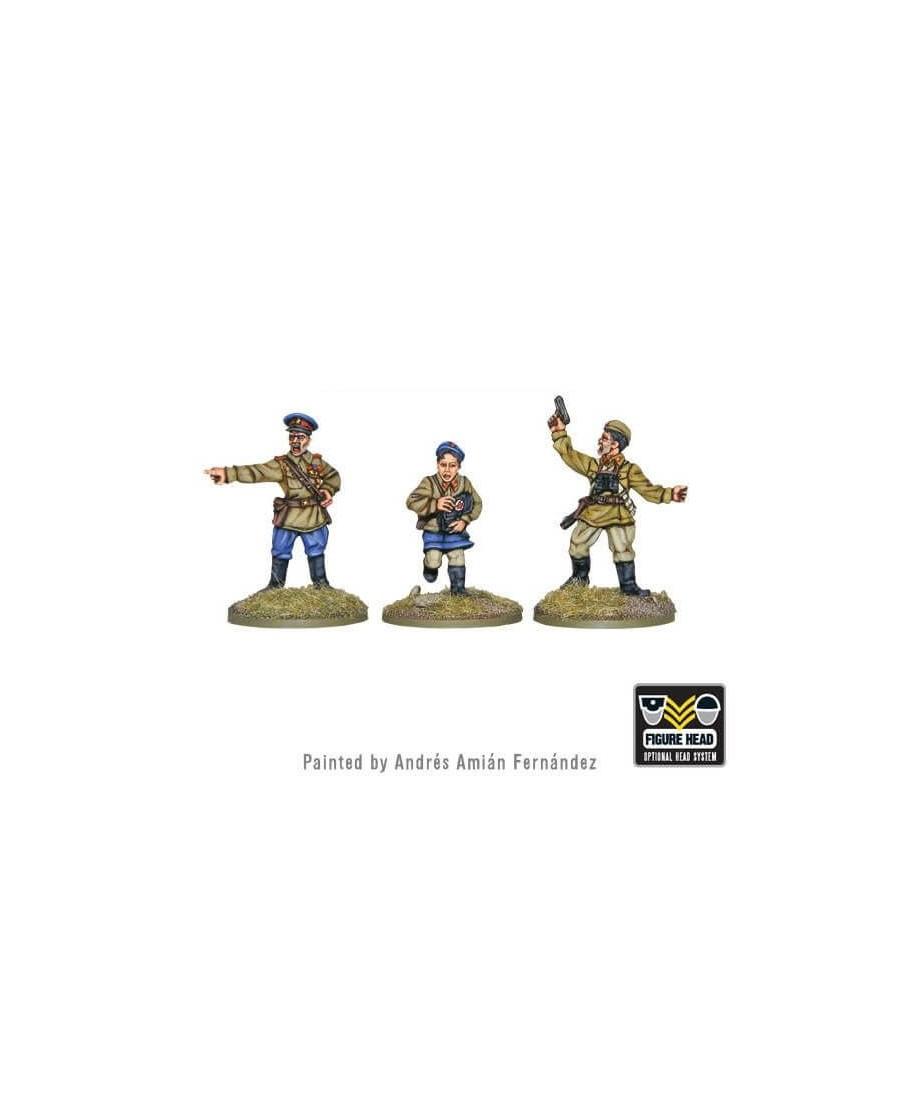 Bolt Action : Soviet Command   Boutique Starplayer   Jeu de Figurines