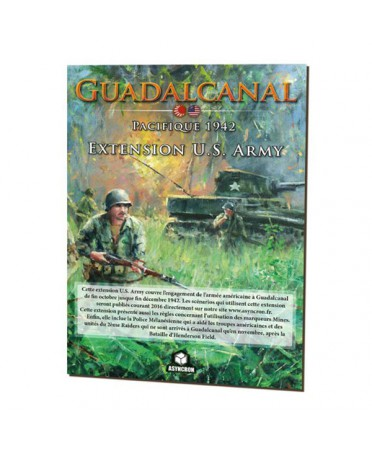 Conflict of Heroes : Guadalcanal - Extension U.S. ARMY