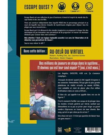Escape Quest :  Au-delà du virtuel | Boutique Starplayer | Jeu de Rôle d'Aventure