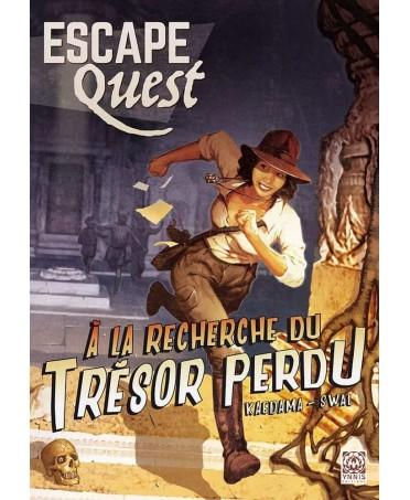 Escape Quest : À la Recherche du Trésor Perdu | Boutique Starplayer | Jeu d'Aventure
