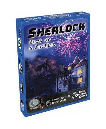 Sherlock : Mort un 4 Juillet | Boutique Starplayer | Jeu d'Enquête