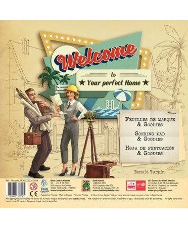 Welcome : Pack de 100 Feuilles | Boutique Starplayer | Jeu de Société