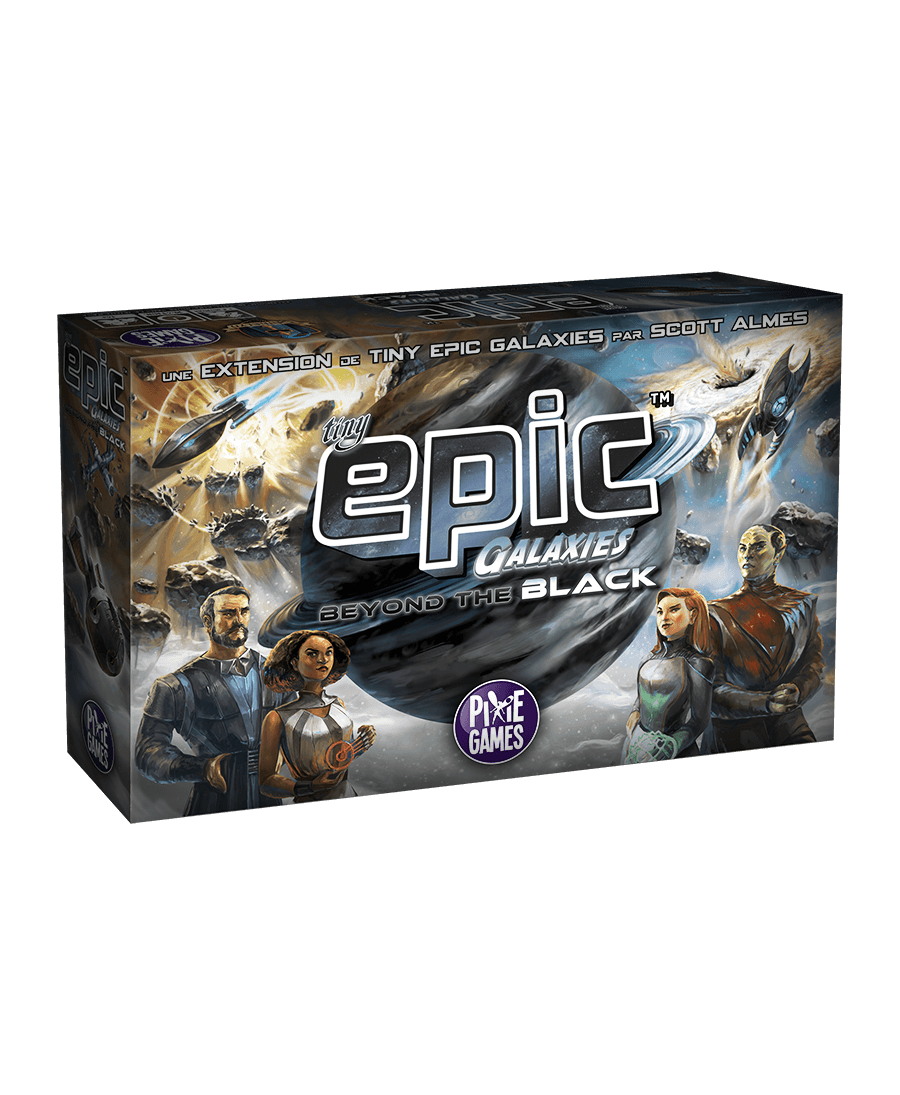 Tiny Epic Galaxies : Beyond the Black | Boutique Starplayer | Jeu de Société