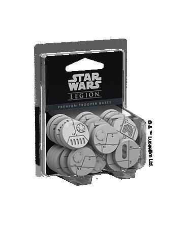 Star Wars Légion : Socles Premium pour Trooper (VO)   Starplayer   Jeu de Figurines