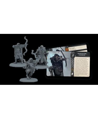 Le Trône de Fer JDF : Patrouilleurs Chasseurs   Boutique Starplayer   Jeu de Figurines