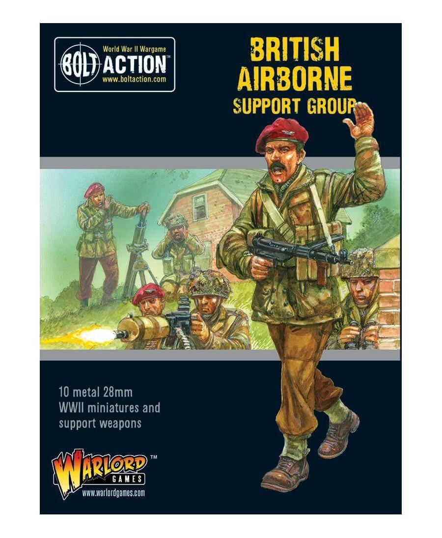 Bolt Action : British Airborne Support Group | Boutique Starplayer | Jeu de Figurines