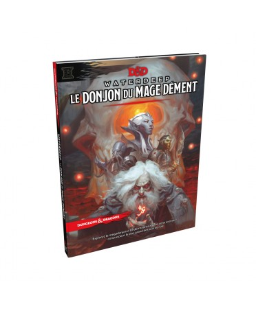 Donjons & Dragons 5: Waterdeep - Le Donjon du Mage Dément   Starplayer   Jeu de Rôle