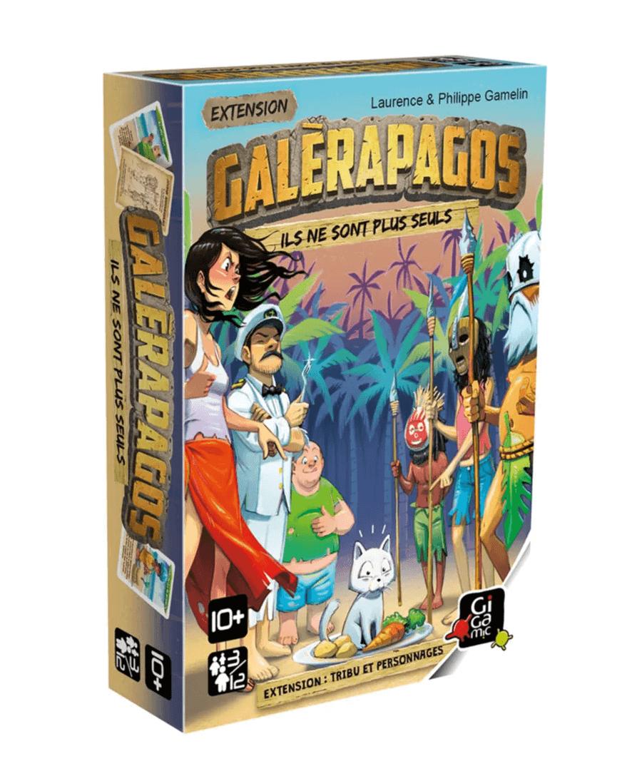 Galèrapagos : Ils ne sont plus Seuls | Boutique Starplayer | Jeu de Société