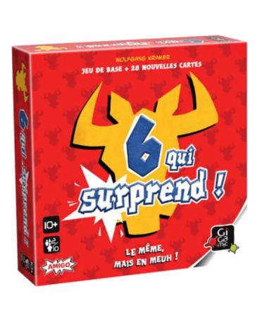 6 Qui Surprend | Boutique Starplayer | Jeu de Société