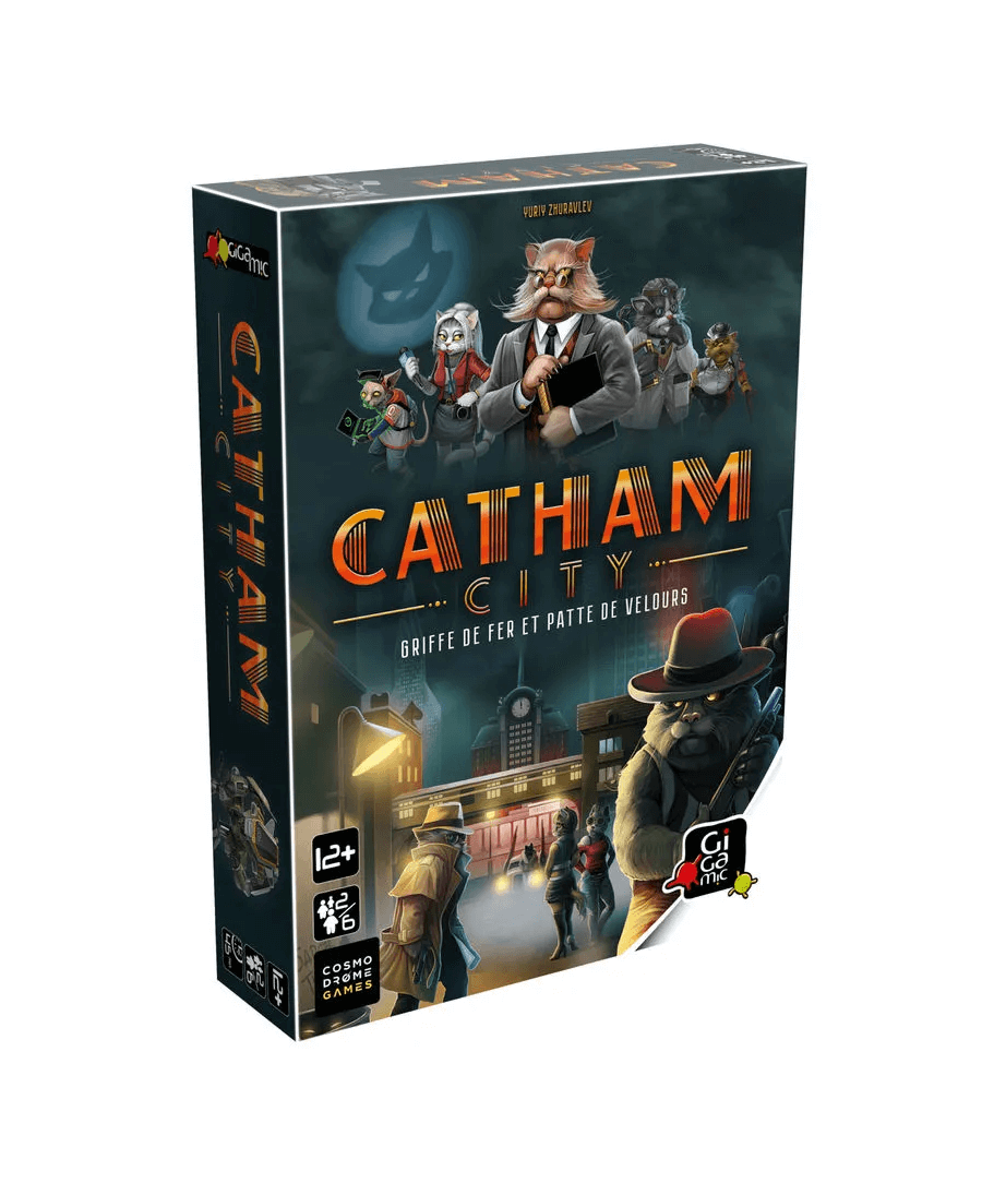 Catham City (VF) | Boutique Starplayer | Jeu de Société