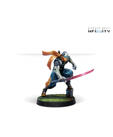 NA2 / JSA : Saito Tōgan, Mercenary Ninja | Boutique Starplayer | Jeu de Figurines