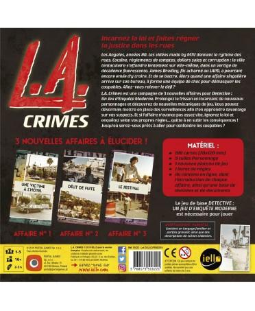 Détective : L.A. Crimes (VF - 2019)   Boutique Starplayer   Jeu de Société