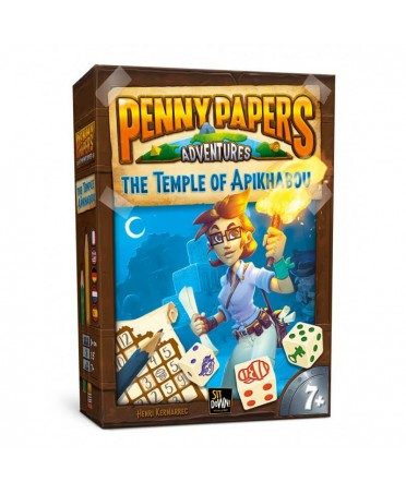 Penny Papers : The Temple of Apikhabou  (ML) | Boutique Starplayer | Jeu de Société