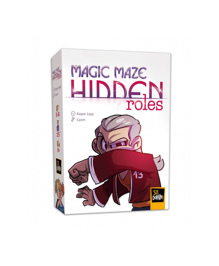 Magic Maze : Hidden Roles  | Boutique Starplayer | Jeu de Société
