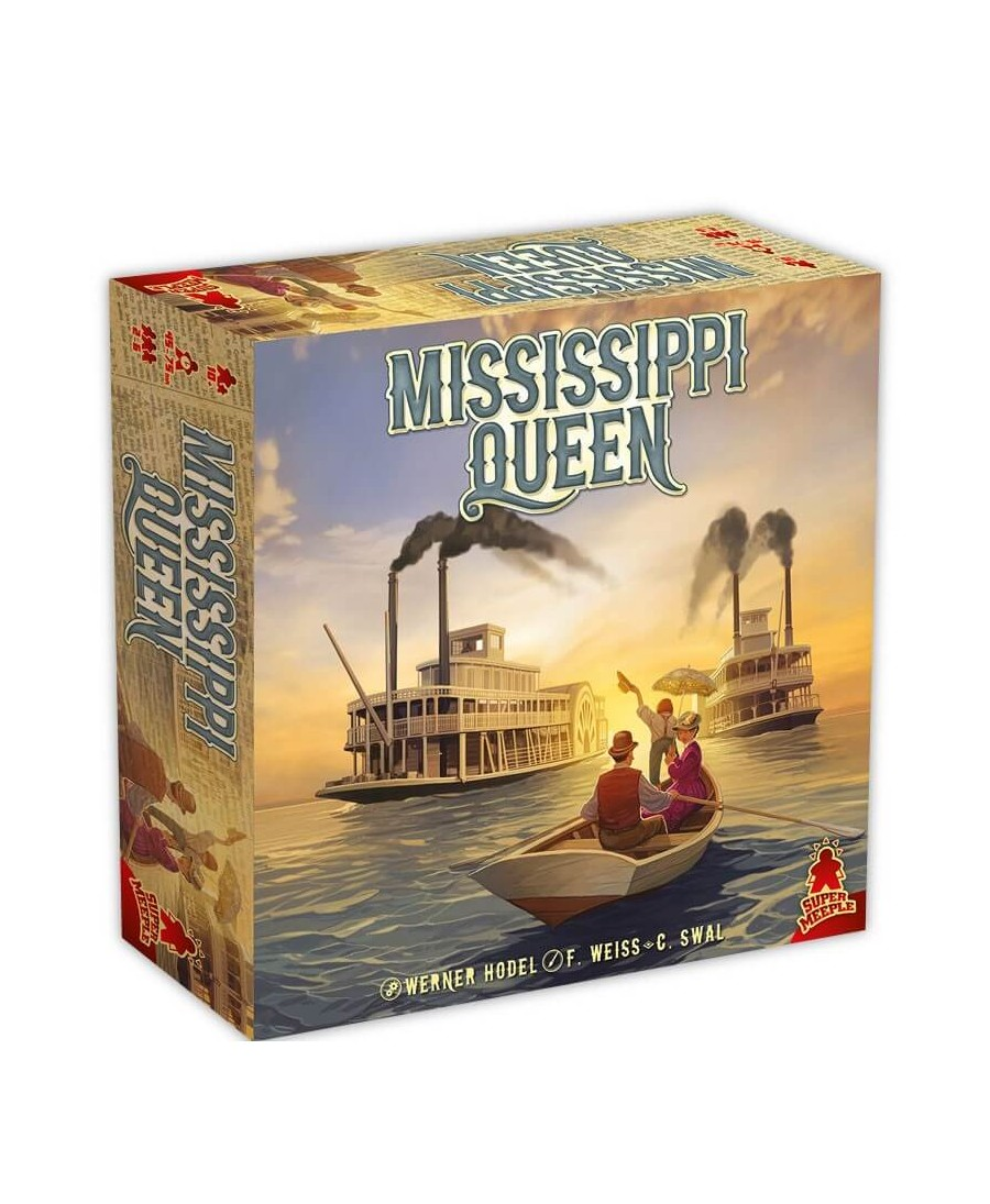 Mississippi Queen (VF) | Boutique Starplayer | Jeu de Société