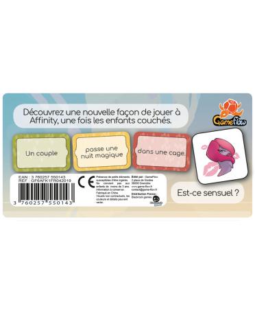 Affinity : Extension Sensuelle (VF) | Boutique Starplayer | Jeu de Société