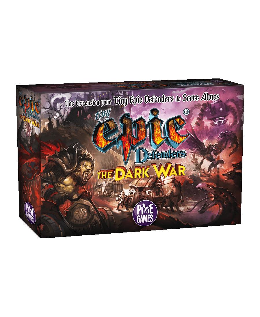 Tiny Epic Defenders : The Dark War (VF) | Boutique Starplayer | Jeu de Société