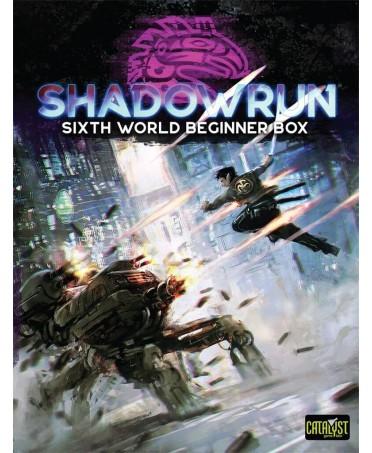 Shadowrun : 6th World Beginner Box (VO - 2019) | Boutique Starplayer | Jeu de Rôle