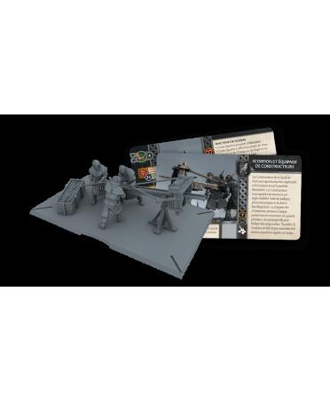 Le Trône de Fer JDF : Scorpion et Équipage de Constructeurs| Starplayer | Jeu de Figurines