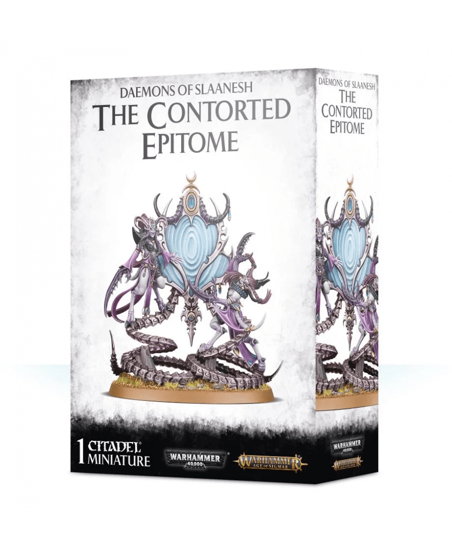 Daemons Of Slaanesh : The Contorted Epitome | Boutique Starplayer | Jeu de Figurines