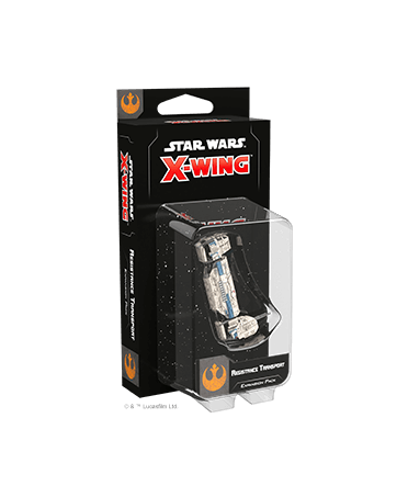 Star Wars X-Wing 2.0 : Transport de la Résistance |Boutique Starplayer | Jeu de Figurines