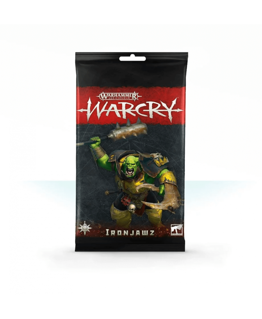 Warcry : Ironjawz Card Pack | Boutique Starplayer | Jeu de Figurines
