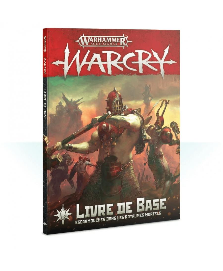Warcry : Livre de Base (VF - 2019) | Boutique Starplayer | Jeu de Figurines