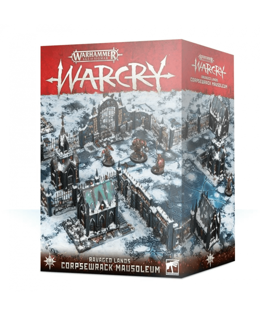 Warcry Ravaged Lands : Corpsewrack Mausoleum (2019) | Starplayer | Jeu de Figurines