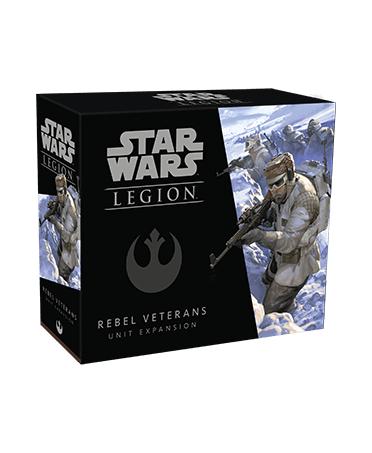 Star Wars Legion : Rebel Veterans Unit Expansion | Boutique Starplayer | Jeu de Figurines