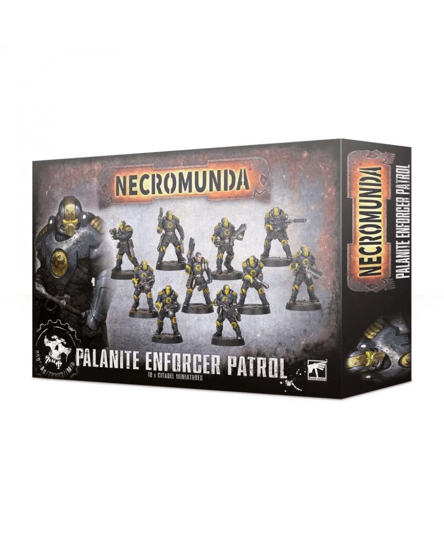 Necromunda : Palanite Enforcer Patrol | Boutique Starplayer | Jeu de Figurines
