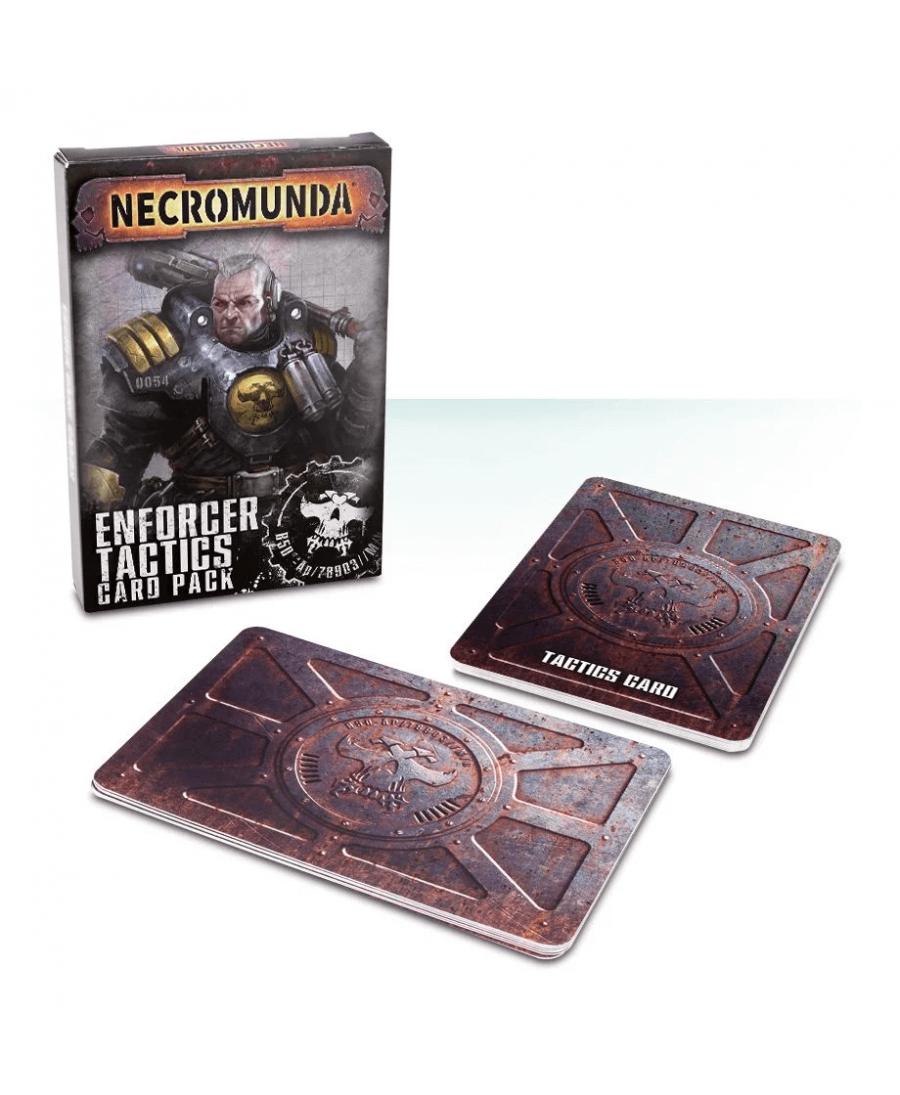 Necromunda : Set de Cartes Tactiques des Palatine Enforcer | Starplayer | Jeu de Figurines