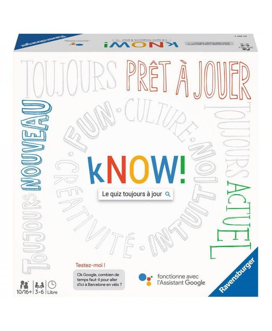 Know ! (VF - 2019) | Boutique Starplayer | Jeu de Société