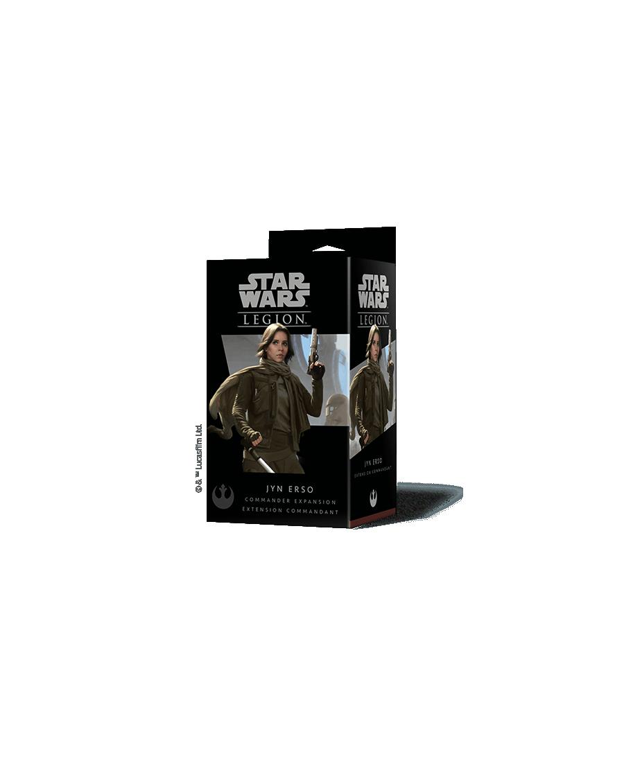 Star Wars Legion : Extension de Commandant Jyn Erso | Starplayer | Jeu de Figurines