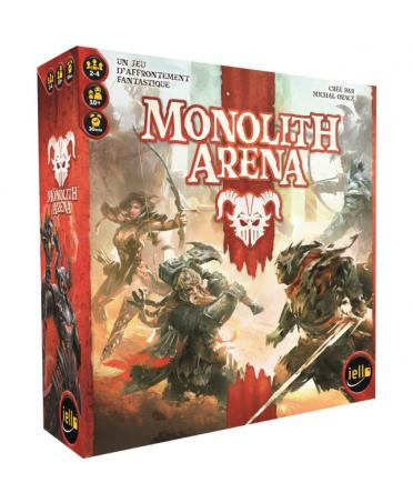 Monolith Arena (VF - 2019) | Boutique Starplayer | Jeu de Société