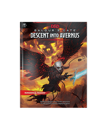 Donjons et Dragons 5e : Descent Into Avernus (VO)   Boutique Starplayer   Jeu de Rôle