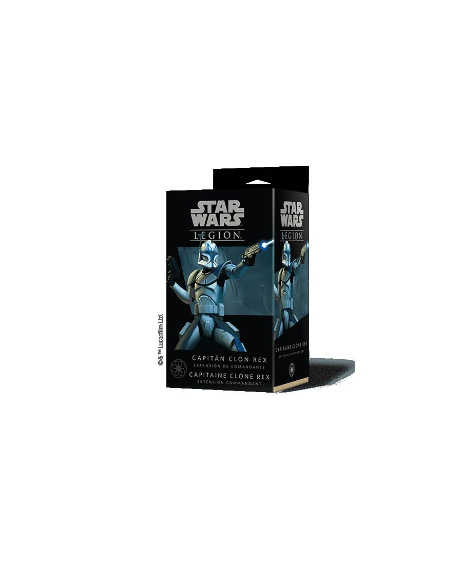 Star Wars Légion : Capitaine Clone Rex (VF) | Boutique Starplayer | Jeu de Société