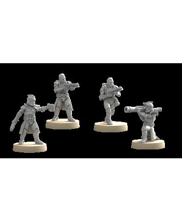 Star Wars Légion : Soldats Clones de Phase I (VF) | Boutique Starplayer | Jeu de Société