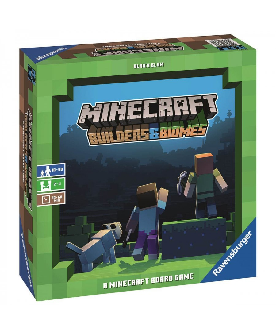 Minecraft : Builders & Biomes (VF - 2019) | Boutique Starplayer | Jeu de Société