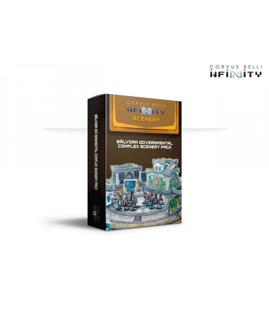 Infinity : Sálvora Governmental Complex Scenery Pack | Starplayer | Jeu de Figurines